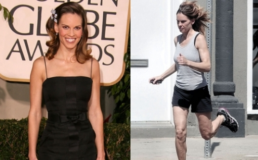<br /><br />The super-skinny and athletic figure wont guarantee you a spotless figure. Therefore it is not so surprising to see Hilary Swank struggling with cellulite. In spite of her efforts with exercise and various diets she is still one of the unfortunate victims of this world-wide health problem.<br /><br />