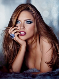 Victoria's Secret Midnight Glamour Holiday Makeup 2010
