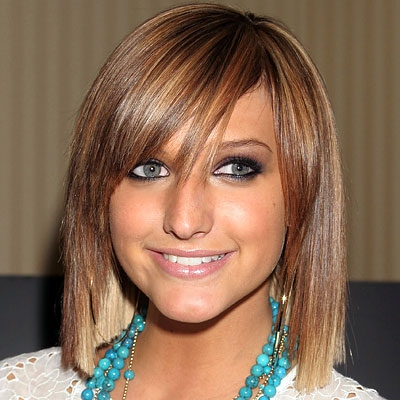 ashlee simpson short hair. Short hair might have appeared