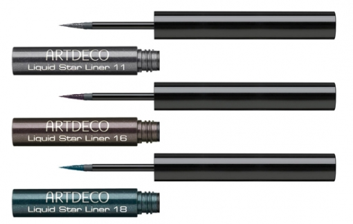 <br />Define the fabulous shape of your eyes with these stylish liquid eye liners. There's no need to stick to classy black to achieve the desired impression. Instead make sure you experiment with the visual effect of these colorful designs. Select the desired hue from: Anthracite, Brown and also Green. Make sure you dont skip using these when preparing for a speical event as a date or dinner with your family for the holidays.<br />
