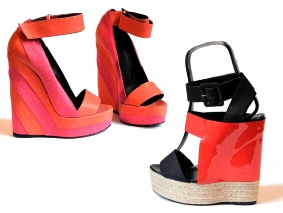 Pierra Hardy Spring Summer 2011 Wedges
