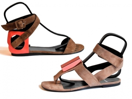Pierre Hardy Spring 2011 Flats