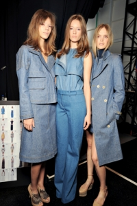Spring/Summer 2011 Blue Jeans Trends