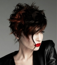 Chic Asymmetrical Hair Styles For Fall