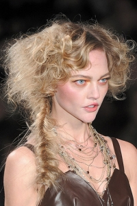 Fall/Winter 2010 Runway Braided Hairstyles
