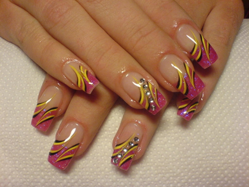 Multi-Colored Nail Designs