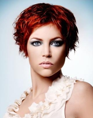 Short bob hair styles as well as shag haircuts lead the top of A-list hair