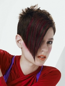 edgy short hairstyles for teens