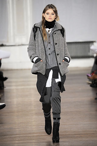 Fall/Winter 2010 Layers Fashion Trend.