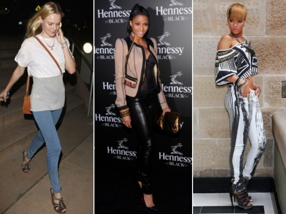 Celebrities Wearing Leggings