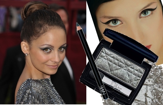 nicole richie eye makeup. Scout some of the cute cat eye