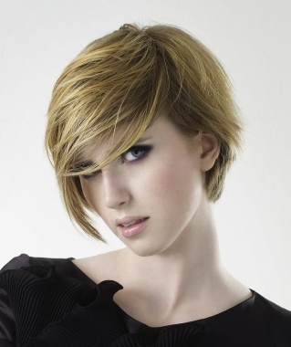 Wispy Short Hair Styles for Fall