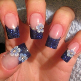 Nail design stickers