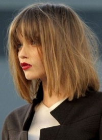 Fall/Winter 2010 Bangs Hairstyles Trend
