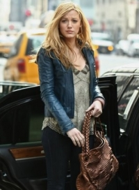 Colored Leather Jacket Celebrity Style