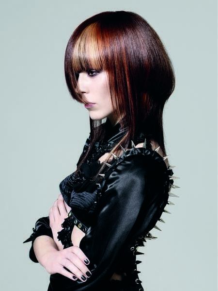 Cool Colors To Dye Your Hair: Tone-on-Tone Cool Hair Color Ideas