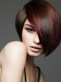 Tone-on-Tone Cool Hair Color Ideas
