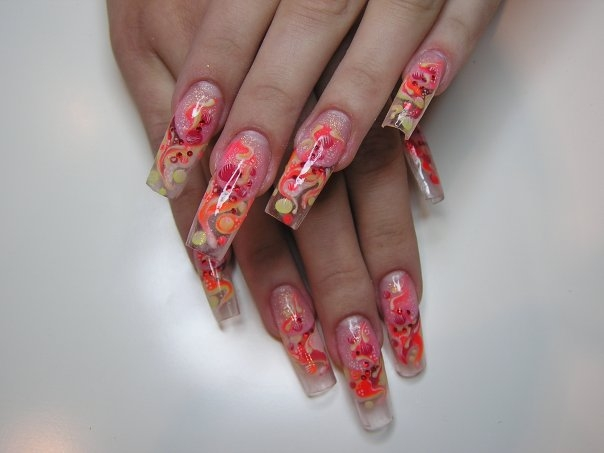 long nails might serve as the perfect canvas to create your dream nail
