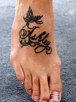 Most painful spots to get a tattoo makeup tips and fashion for How sore is a tattoo on your foot