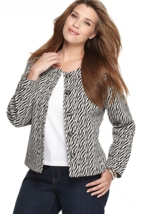 Plus size jacket trends