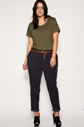 Plus size trouser pants