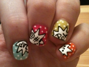 nail art13 thumb Funny nails art decorations and funny ideas for cute Manicure