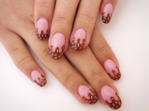 nail art78 thumb Stylish manicure perfect manicure new trend nails with strawberry nails art design healthy nails decoration of manicure cookie nails art design colorful nails beautiful manicure
