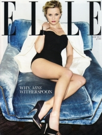 Reese Witherspoon Covers Elle UK May 2011