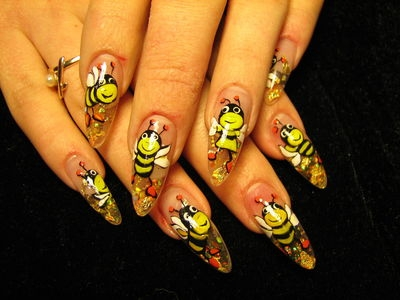 Fun summer nail art designs if you love having fun with your nail art designs then you should definitely opt for more sophisticated ones which can bring a smile on your face prinsesfo Choice Image