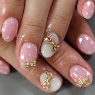 lovely nail art thumb Modern nails art design   Latest nails manicure decoration design