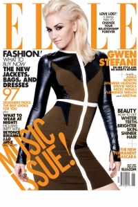 Gwen Stefani Covers Elle May 2011