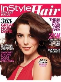 Ashley Greene for InStyle Hair Spring 2011