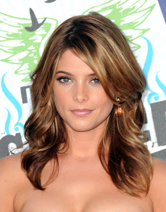 hair with chunky highlights. Hair Highlights Ideas