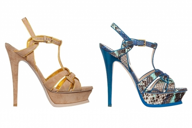YSL Tribute Sandals Spring Summer 2011