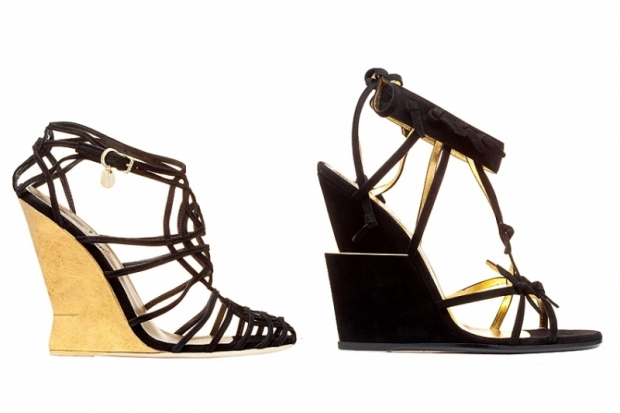 YSL Sprign 2011 Wedge Sandals