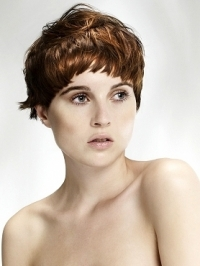 Feminine Short Layered Hairstyles