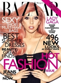 Lady Gaga Covers Harper's Bazaar May 2011 Edition