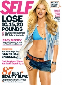 Gwyneth Paltrow Talks Fitness and Diet in 'Self' May 2011