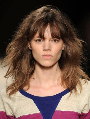 hair styles for bangs summer 2011 hairstyle trends 4327