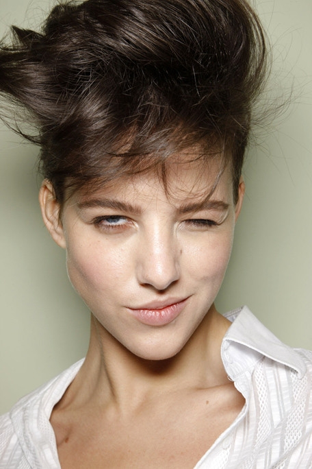 hair styles for bangs summer 2011 hairstyle trends 4327 | paulsmithspringrtw20112