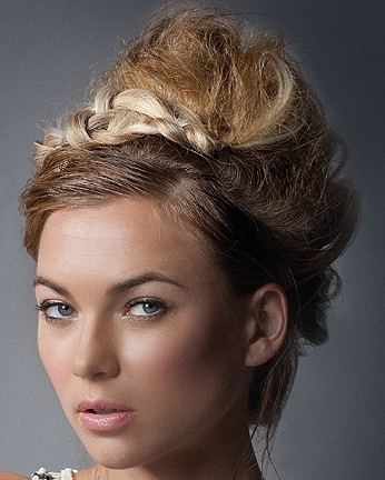 haircuts on me styling ideas for hair 4362 | intercoiffure updo hair