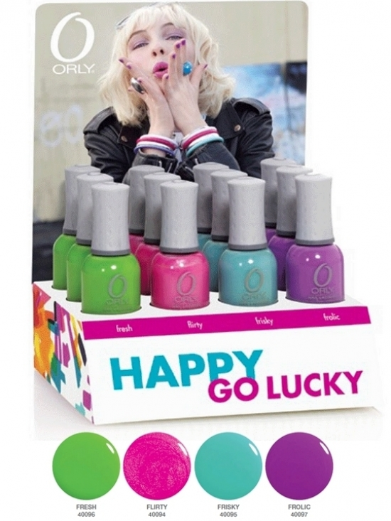 Orly Summer 2011 Happy Go Lucky