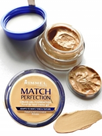 New Rimmel Match Perfection Cream Gel Foundation Review