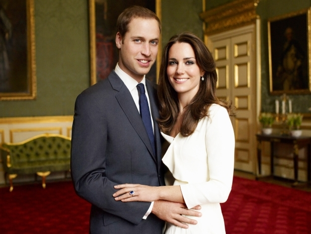 Queen Elizabeth II Announces Prince William and Kate