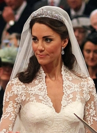 Kate Middleton Wedding Hairstyle and Makeup