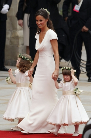 The Royal Wedding guests arriving at the Westminster Abbey dazzled with