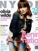 Olivia Wilde Talks Dating and Texting about Love in 'Nylon' August 2011