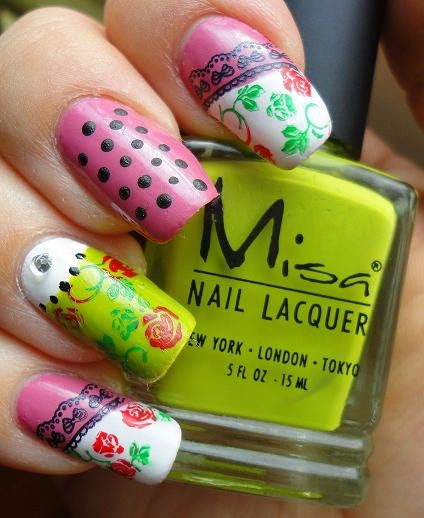 Girly Nail Art Designs: Cute And Girly Nail Art Designs