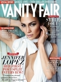 Jennifer Lopez Talks Marc Anthony with Vanity Fair September 2011