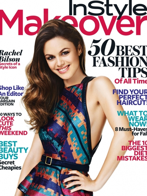 Rachel Bilson Covers InStyle Makeover